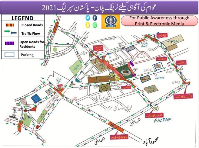 PSL Traffic Plan 2021